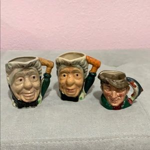 Toby Mugs - Set of 3